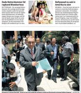 Artikel van Nadine van Loon in het Parool.